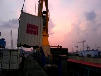 KONTAINER TOL LAUT DUKUNG SKEMA END TO END