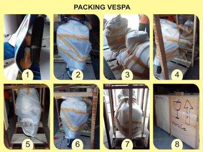 Tutorial Packing Vespa