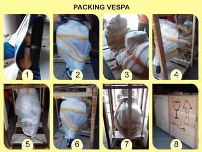 Tutorial Packing Vespa